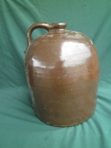 ANTIQUE 3 GALLON PRIMITIVE BROWN BEEHIVE WHISKEY MOONSHINE ...