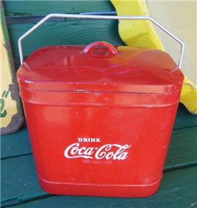 1940'S QUIKOLD COKE STERLING DRINK COCA-COLA CHEST BOTTLE ...