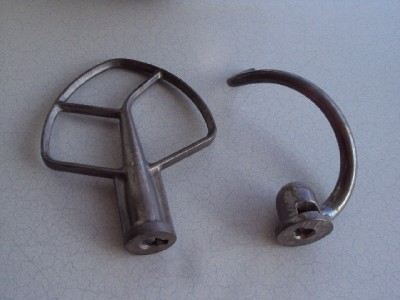 Cyberlog new kitchenaid kgssamixer attachment pack for Kitchenaid c dough hook