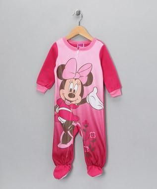 Minnie Mouse Footie Pajama Car Interior Design