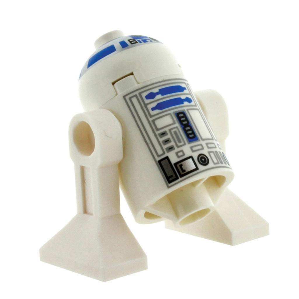 New star wars lego mini figure r2 d2 r2d2 minifig astromech rare white top 6212 ebay - Lego starwars r2d2 ...