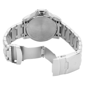 NEW, Authentic Bulova Marine Star Black Dial Mens Quartz Watch Model