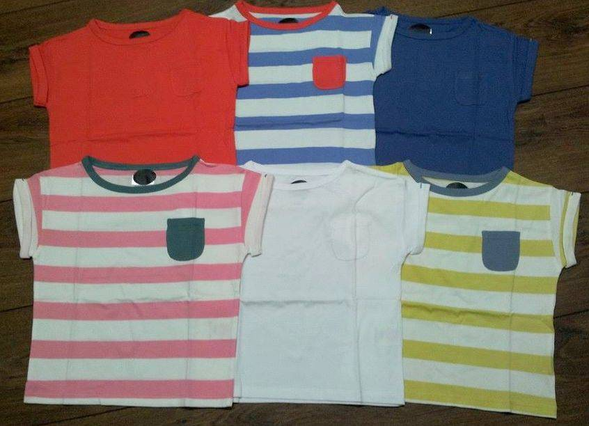 SALE-New-Boys-Ex-Mini-Boden-T-Shirt-Plain-Striped-Age-2-10-Years