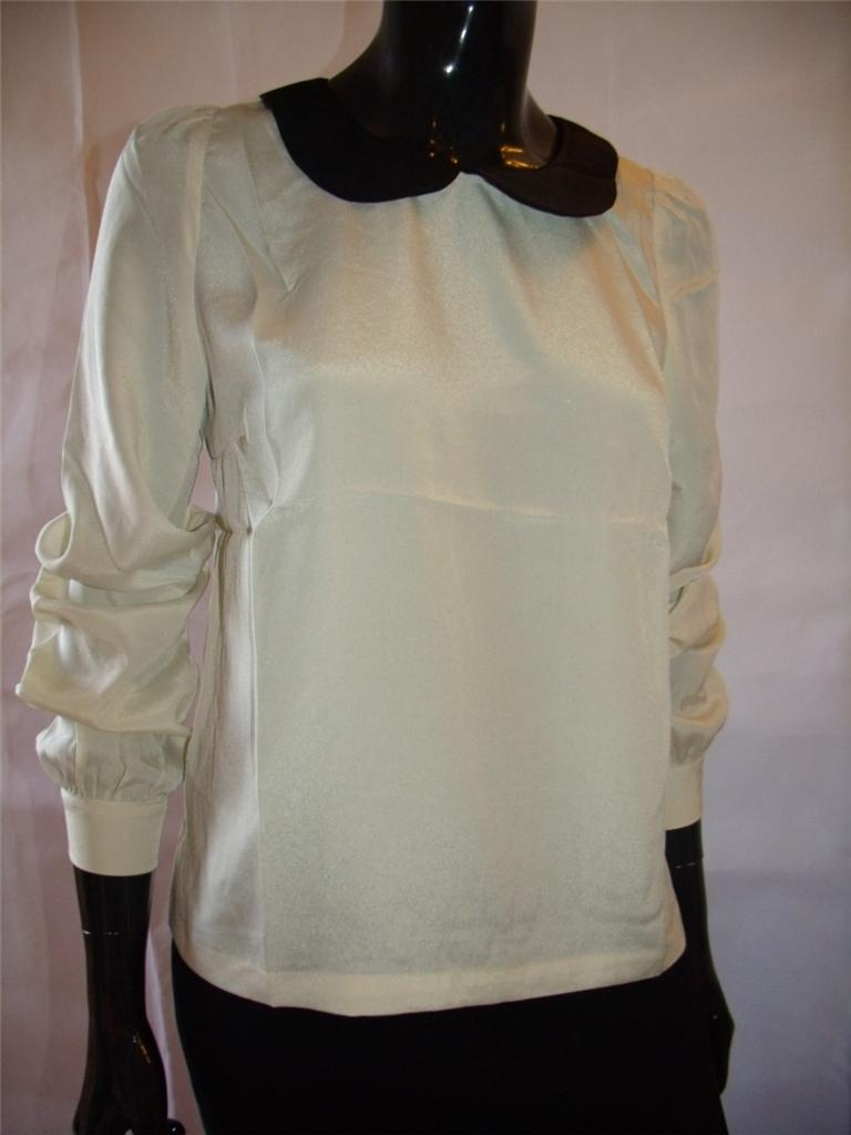 New Ladies Womens Blouse Shirt Top Size 8 12 14 Small ...