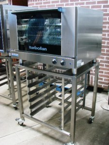 E27M3 Turbofan Full Size Electric Convection Oven with Stand