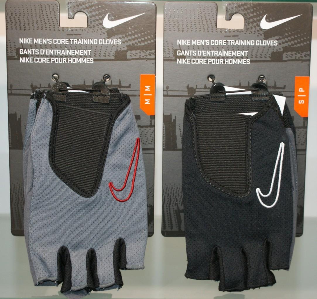 Nike Training Gloves Size Chart: Nike Men's Core Weight Training/Lifting Gloves Fingerless