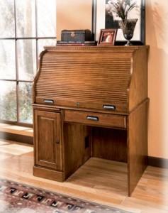 Ashley Furniture H214 23 Rolltop Desk Ebay