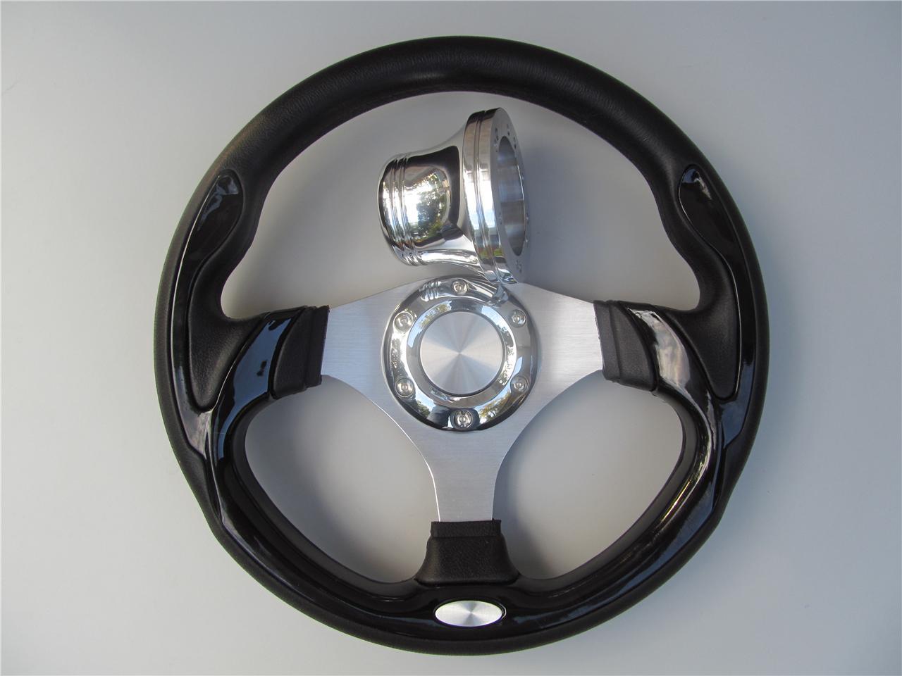 Club car steering wheel adapter