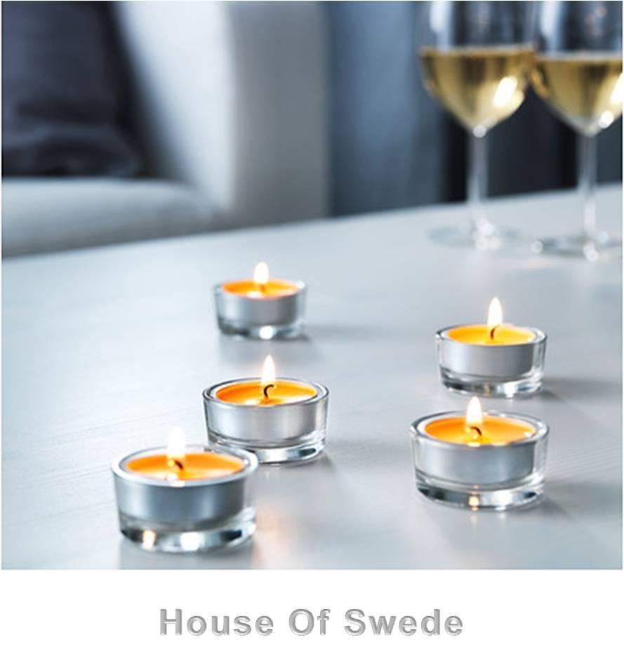 30 ikea tealight candles scented orange sinnlig tea light. Black Bedroom Furniture Sets. Home Design Ideas