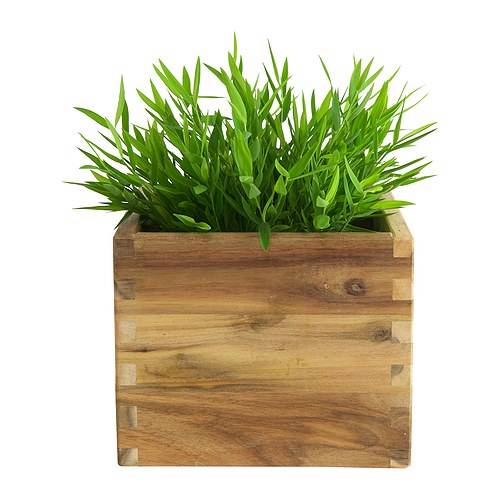 Ikea artificial house bamboo potted plant fake grass for Ikea plante artificielle