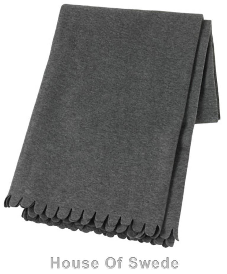 IKEA POLARVIDE Polar Fleece THROW Blanket RUG Blanket