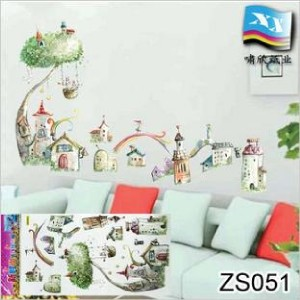 Castle Tree Wall Decor Removable Art Decal Stickers New