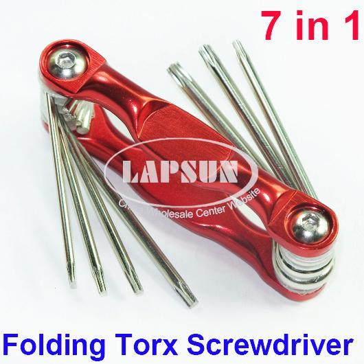 folding torx screwdriver set t6 t7 t8 t9 t10 t12 t15 phone repair tool 7in1 au ebay. Black Bedroom Furniture Sets. Home Design Ideas