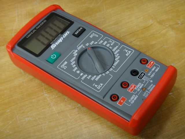 Snap On Multimeter : Snap on multimeter eedm d new in box tax invoice wow