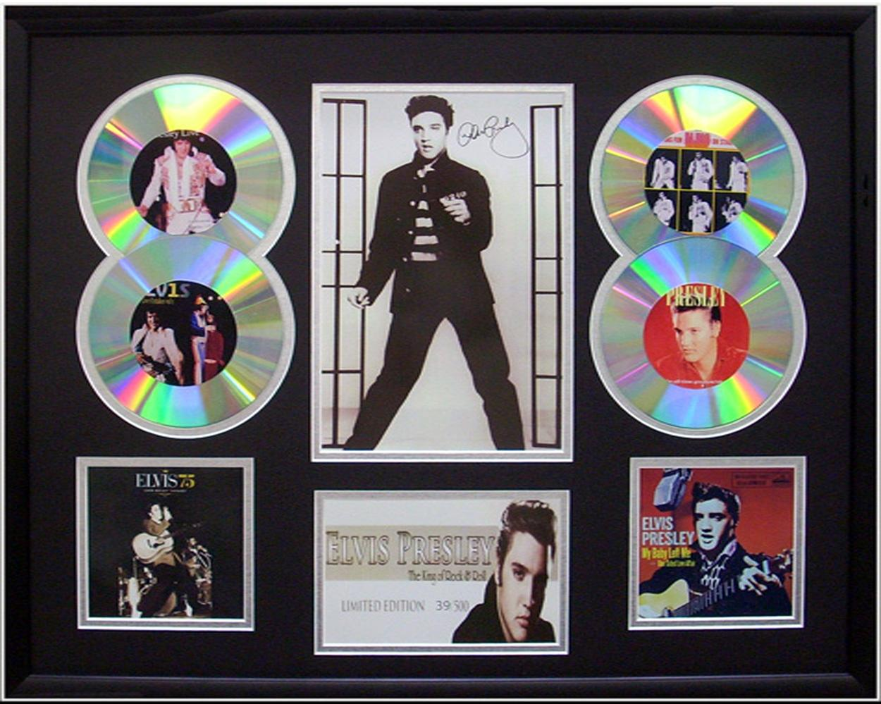 Elvis-Presley-framed-Limited-Ed-CD-Photo-Display-Set