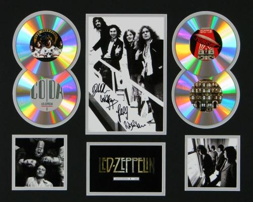 Led-Zeppelin-Signed-Framed-Ltd-Edition-CD-Photo-Display