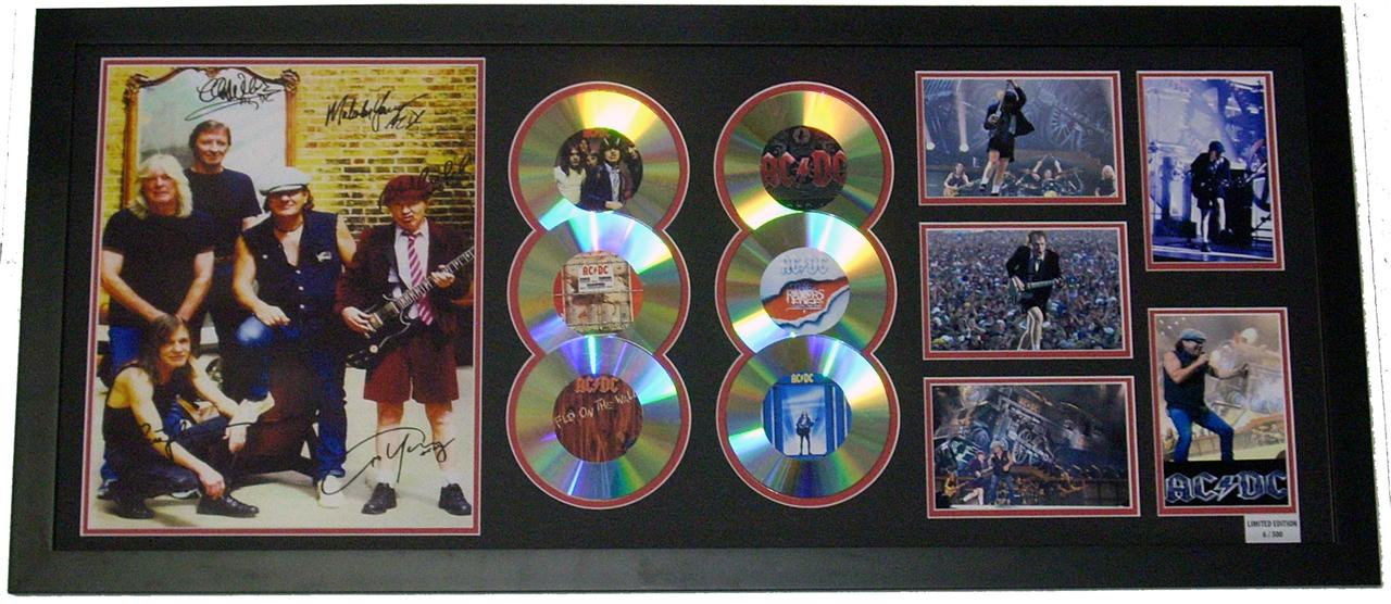 AC-DC-Signed-Limited-Edition-6-CD-Display-Music-Memorabilia