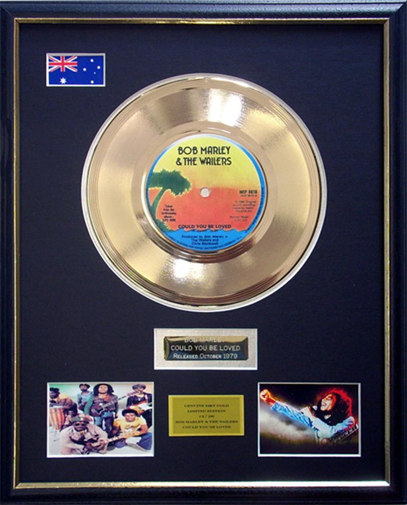 Bob-Marley-Could-You-Be-Loved-Limited-Edition-Framed-24KT-Gold-Record-Display