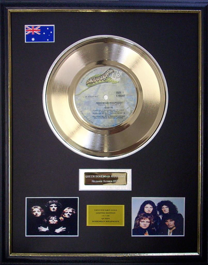 Queen-Bohemian-Rhapsody-Ltd-Edition-Framed-24KT-Gold-Record-Display