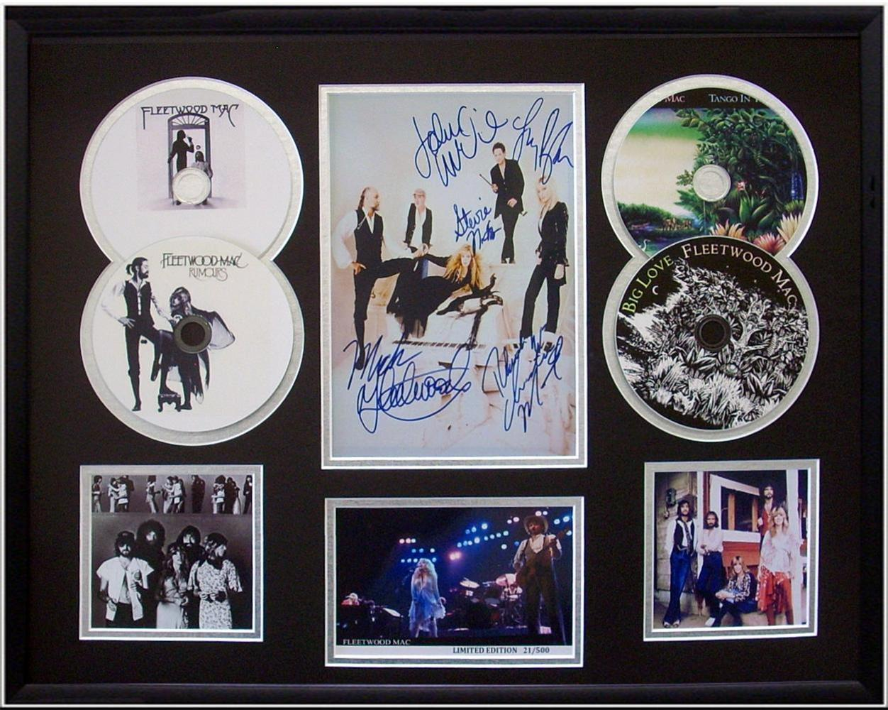 Fleetwood-Mac-Signed-Limited-Edition-4-CD-Photo-Display