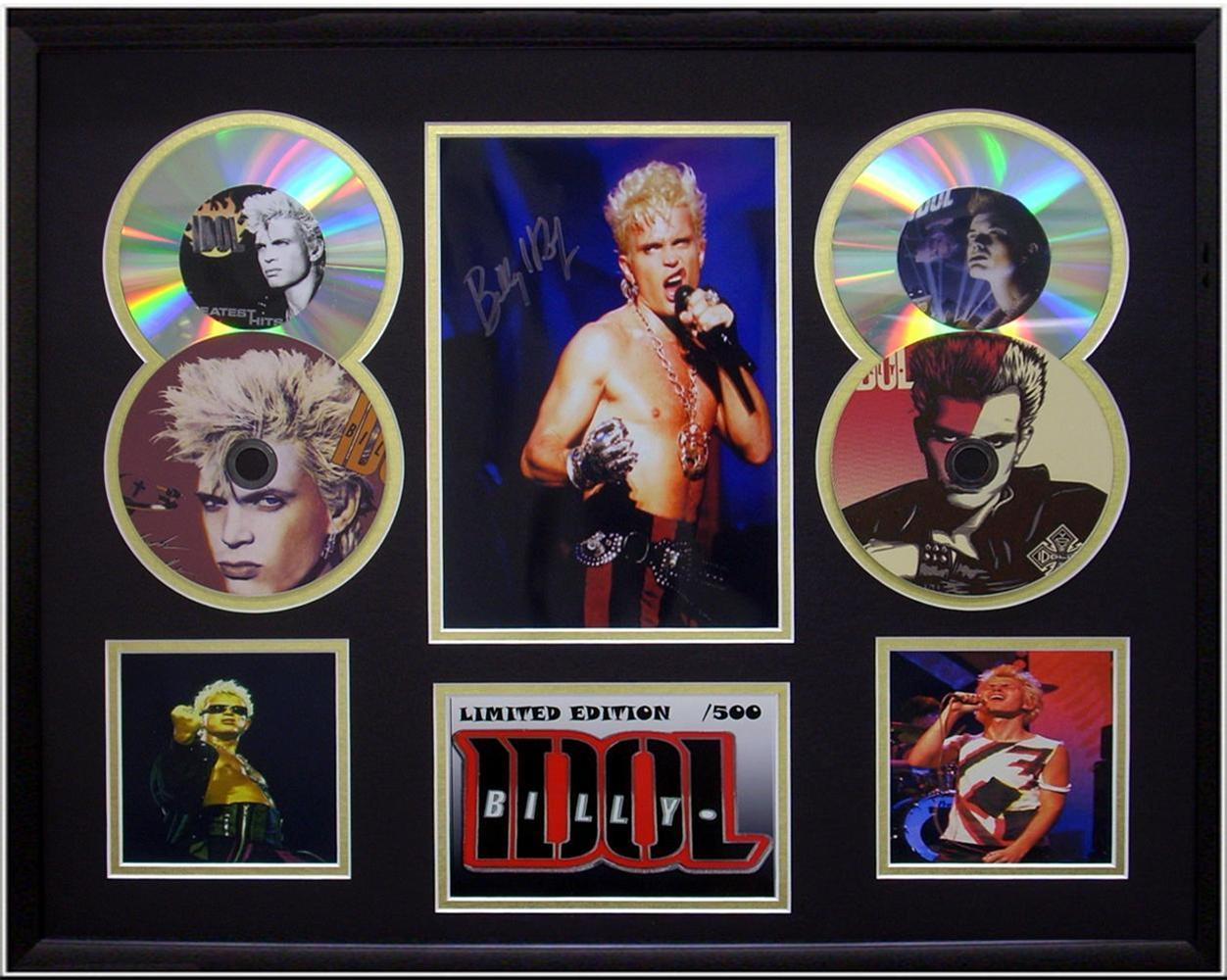 Billy-Idol-Generation-X-Lim-Ed-Music-4-CD-Photo-Display