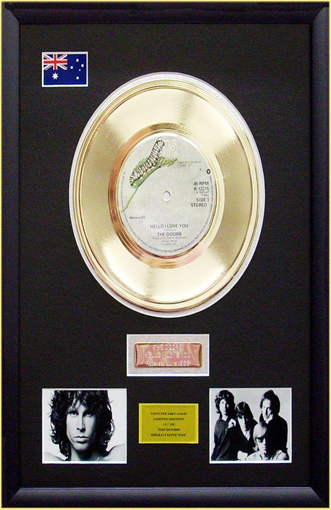 The-Doors-Jim-Morrison-Limited-Edition-Framed-24KT-Gold-Record-Display