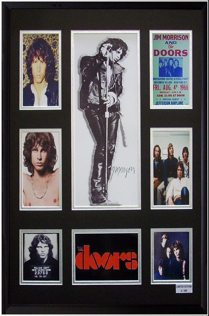 The-Doors-Jim-Morrison-Framed-Picture-Display