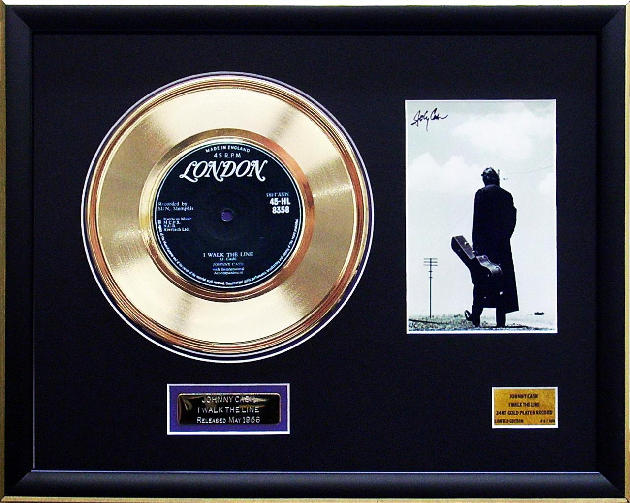 Johnny-Cash-I-Walk-The-Line-Signed-Limited-Edition-Framed-24KT-Gold-Record