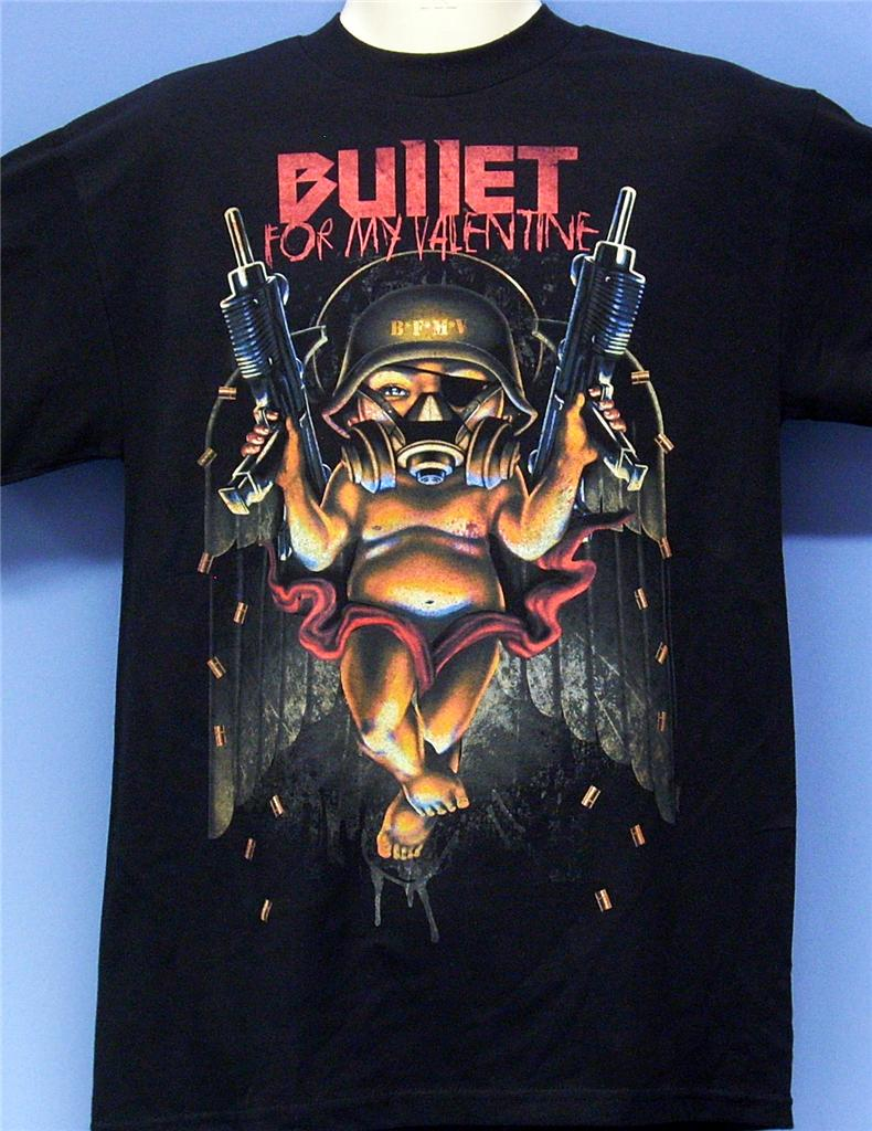 BULLET-FOR-MY-VALENTINE-AUTOMATIC-OFFICIAL-LICENCED-BAND-MERCHANDISE-T-SHIRT