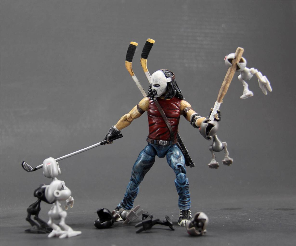 Custom Neca Style Casey Jones The Technodrome Forums