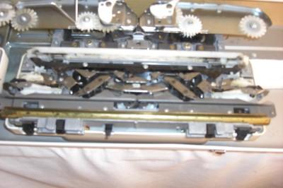 BROTHER ELECTRONIC KNITTING MACHINE KH 950i - YouTube