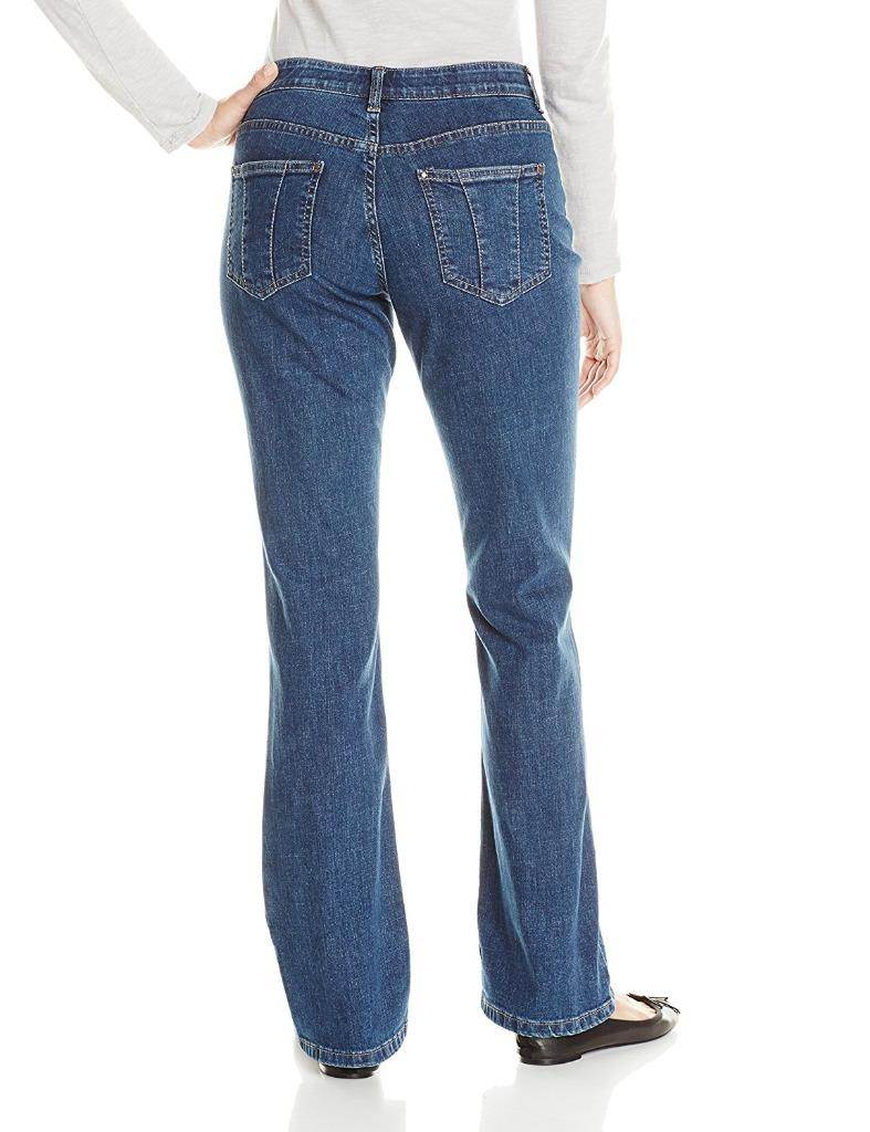 Lee Womens Jeans Comfort Fit Barely Bootcut Jean Stretch ...