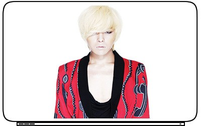 dragon Gdragon KPOP Laptop Netbook Skin Cover Sticker