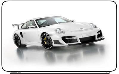 Car Porsche 911 Laptop Netbook Skin Decal Cover Sticker