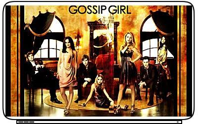 TV Gossip Girl Laptop Netbook Skin Cover Sticker Decal