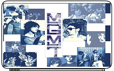 Music MGMT Laptop Netbook Skin Cover Sticker Decals HOT