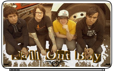 Fall Out Boy Laptop Netbook Skin Cover Sticker Decals