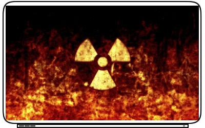 Nuclear Logo Laptop Netbook Skin Decal Cover Sticker