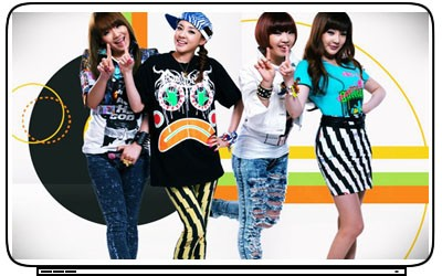 2ne1 Music Kpop Laptop Netbook Skin Cover Sticker Decal