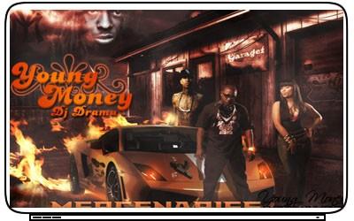Rap Hip Hop Young Money Drake Lil Wayne Laptop Netbook Skin Cover