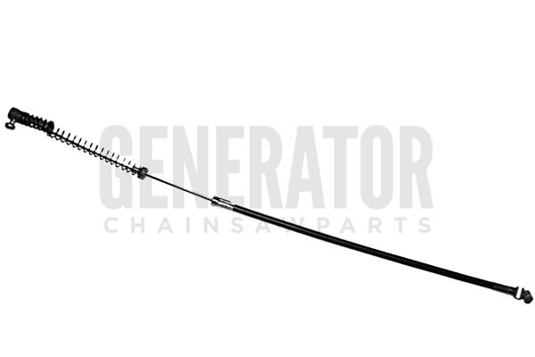 throttle cable 11 5 u0026quot  parts for wacker bh23 rammer engine motor