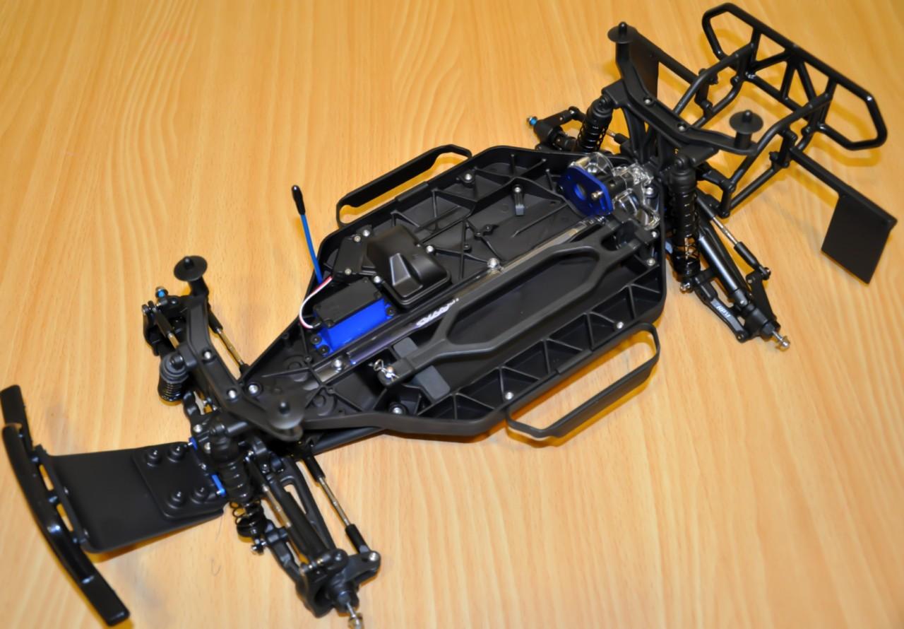 Traxxas Slash 4x4 Deals On 1001 Blocks 1 10 Scale Brushless Short Course Truck 6808l Roller New Pro Basher 110 Major Upgrades W Proline