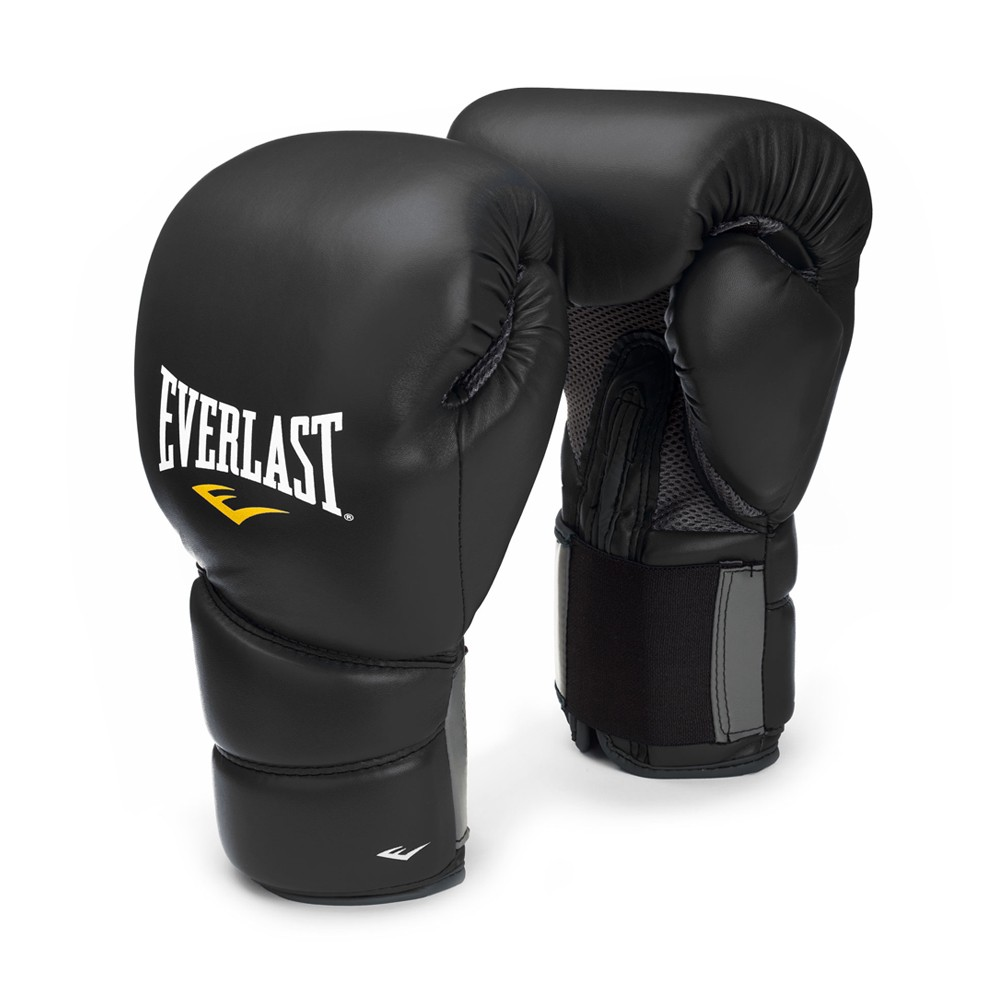 Everlast Fitness Gloves Mens: EVERLAST PROTEX2 TRAINING MMA BOXING GLOVES PROTEX 2 BLACK