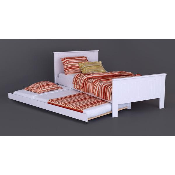 NEW Modernised Childrens Girls Boys SINGLE BED TRUNDLE