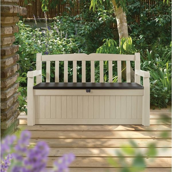 NEW Durable Eden Outdoor Garden Storage Box Bench Seat For Toys Garden Tools