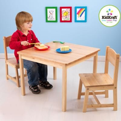NEW-Childrens-Girls-Boys-KidKraft-Aspen-Table-and-Chair-Set-Ages-3-8-Years