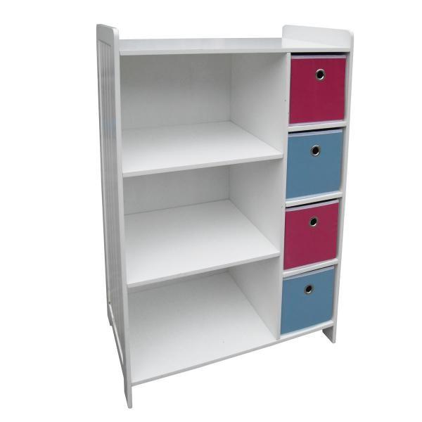 New Childrens Kids Storage Drawers Toybox Toy Box Shelving