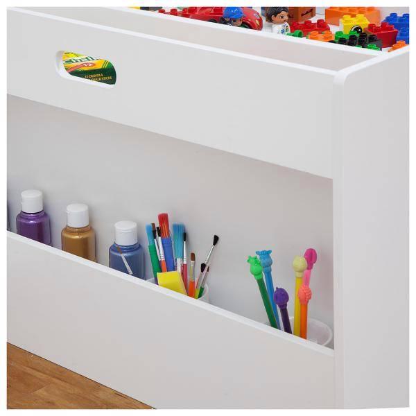 new childrens kids arts craft blackboard storage table ebay. Black Bedroom Furniture Sets. Home Design Ideas