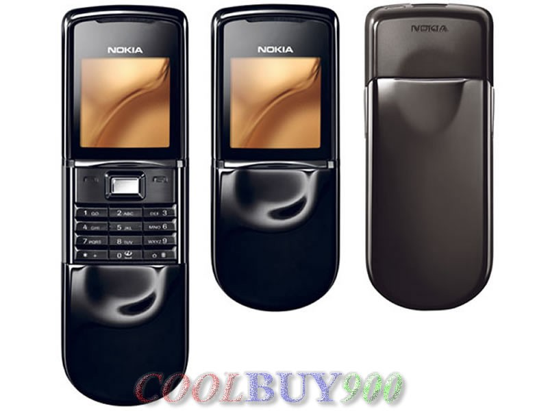 New Nokia 8800 sirocco GSM Mobile Phone Unlocked Black ...
