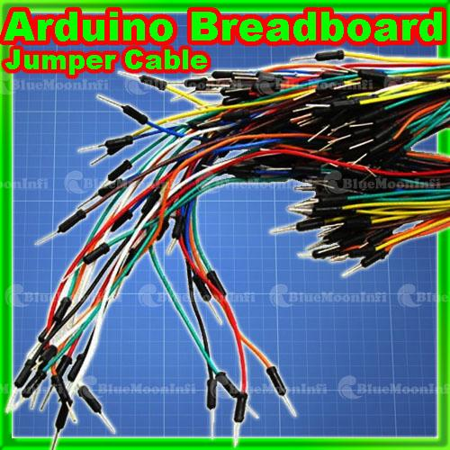 Arduino Jumper Cables : Breadboard jumper wire cable kit approx for arduino ebay